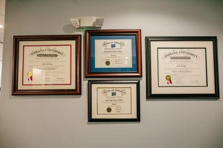 Dentist diplomas