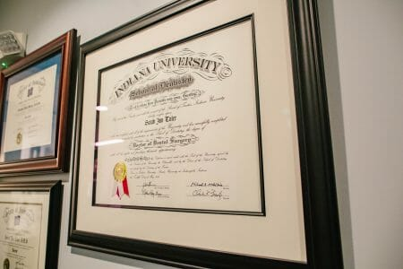 Dr Toler Diploma